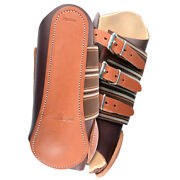 C-00bs Classic Equine Leather Lightweight Horse Splint Boot W/ Tendon Pad Small