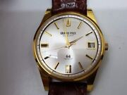 Vitage Orient Grand Prix 64 Automatic Gold Filled Watches Menand039s Same Same Nos