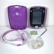 Leapfrog Leappad 2 Explorer Tablet Hello Kitty Game Silicone Cover And Headphones
