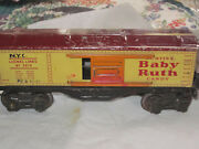 Lionel Lines 2679 Curtiss Baby Ruth Candy Freight Car W/opening Doors