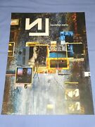 Nine Inch Nails Hesitation Marks 2013 Tour Poster 18x24 Official Atticus Ross