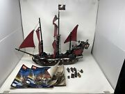 Lego Pirates Of The Caribbean Queen Anne's Revenge 4195 Retired Ship 2012 Read