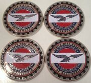 Zenith Wire Wheels Of California 4 Chips Emblems Chrome Multi Color Size 2.25andrdquo