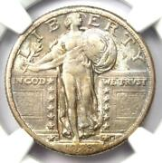1923-s Standing Liberty Quarter 25c Coin - Certified Ngc Xf Details - Rare Date