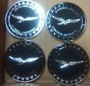 """Zenith Wire Wheels 4 Chips Campbell California Black And Chrome Reverse Size 2.25"""""""