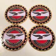 Zenith Wire Wheels Chips Emblems Campbell California Gold Multi Color Size 2.25andrdquo
