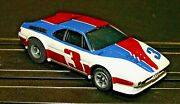 Afx - Vtg Bmw M1 Sports Car White/red/blue 3 W/ Correct G-plus Chassis Clean