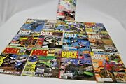 Lot Of 13 Vintage Dirt Rider Magazines Motor Cross Motorcycle All Months Of 1986
