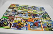 Lot Of 12 Vintage Dirt Rider Magazines Motor Cross Motorcycle All Months Of 1987