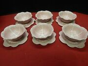 Bordallo Pinheiro Cabbage Bowls And Saucers Plates Made In Portugal Lot Of 12