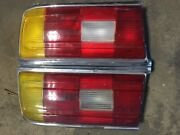 Bmw E12 528 530i Tail Light Assemblies Left+right Used Fair