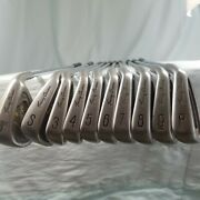 Tommy Armour 855s Silver Scott Irons Steel Stiff / Right Hand