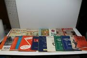 Lot Of 16 Vintage Piano Sheet Music And Song Instruction / Lesson Books