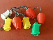 Vintage Camping Patio Party Rv Lights Mold String Lights Working
