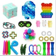 Fidget Toys Set Sensory Toy Pack Adhd Anti Anxiety Stress Relief For Adults Kids