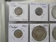 World Foreign Silver Coins X 18 All Coins-mexico Small 2 Are Not Silver 12