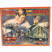 Set Of 3 Lionel Trains Reproductions Tin Signs Great Graphics
