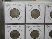 World Foreign Silver Coins X 20 Japan X 11 U. S. 50 Cents Great Britain X 9 23