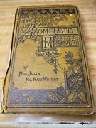 The Complete Home Book Julia Mcnair Wright Domestic Life And Affairs Vintage 1879