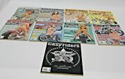 Lot Of 9 Vintage Easy Riders Motorcycle Magazines 2002, 2003, 2004, 2006