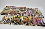 Lot Of 14 Vintage Easy Riders Motorcycle Magazines 1991, 1990, 1989, 1988 Harley