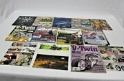 Lot Of 14 Vintage Motorcycle Magazines Harley Davidson Easy Riders American Iron