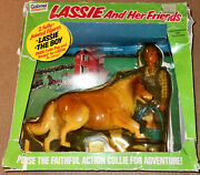 Vintage 70and039s Gabriel Lassie And Her Friends Action Figure Gift Set Lone Ranger