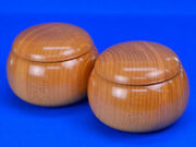 Wooden Go Bowls Zelkova Super Oversized Large Keyaki That Can Be Stored Up To