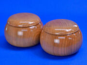 Wooden Go Bowls Cherry Blossom Super Oversized Bowl Of Fox Brown With Little