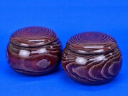 Wooden Go Bowls Chestnut Large Popular That Have Been Used Frequently In The