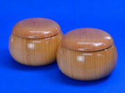 Wooden Go Bowls Cherry Blossom Oversized Bowl Of Fox Brown With Little Peach