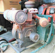 Antique Briggs And Stratton Model Z Sears And Roebuck Engine And Cart Hit And Miss