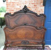 French Antique Louis Xv Full Size Bed   Bedroom Furniture