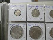 World Foreign Silver Coins X 20 Us Kennedy X 14 Philippines X 6 56