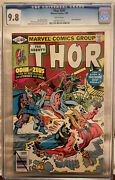 Thor 291 Cgc 9.8 White Pages - Zeus The Celestials And The Eternals Appear