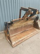 Jcb 3cx Backhoe Front Loader 4 In 1 Bucket With Cutting Edge And Pallet Forks