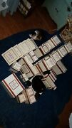 Avon Ruby Red Glass Kitchen Dining Table Collection Cape Cod 50+item Lot