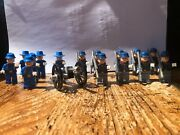 Lego Western Lone Ranger Us Cavalry Soldiers Union Infantry Cowboys Army Figures