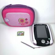 Leapfrog Leappad 2 Explorer Pink + Protective Carry Case And Tangled Game