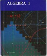 Algebra 1 By Mary P. Dolciani - Hardcover Excellent Condition