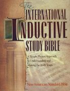 International Inductive Study Bible New American Standard By Harvest House New