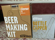 Beer Making Lot From Brooklyn Brew Shop Kit See Details And Bottle Capper Euc