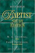 Holy Bible - Baptist Study Edition Celebrate Your Heritage By W. A. Criswell Vg+