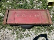 73-79 F 150 Ford Pick Up Truck Step Side Tailgate Tail Gate Maroon Oem