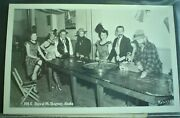 Antique And Vintage 122 Postcards In Modern Album Featuring Gambling Theme