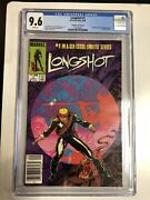 Longshot 1985 1 Cgc 9.6 White Pages - Cpv - 1st App Longshot And Spiral