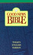 Good News Bible Today's English Version By American Bible Society - Hardcover