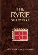 Ryrie Study Bible New American Standard By Charles Caldwell Ryrie - Hardcover