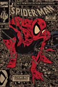 Spider-man 1 Silver Cover, Red Peter Parker Variant Extremely Rare