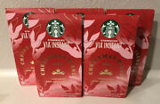 5 Starbucks Coffee Via Instant Christmas Blend 2020- 60 Packets Total- Exp. 6/21